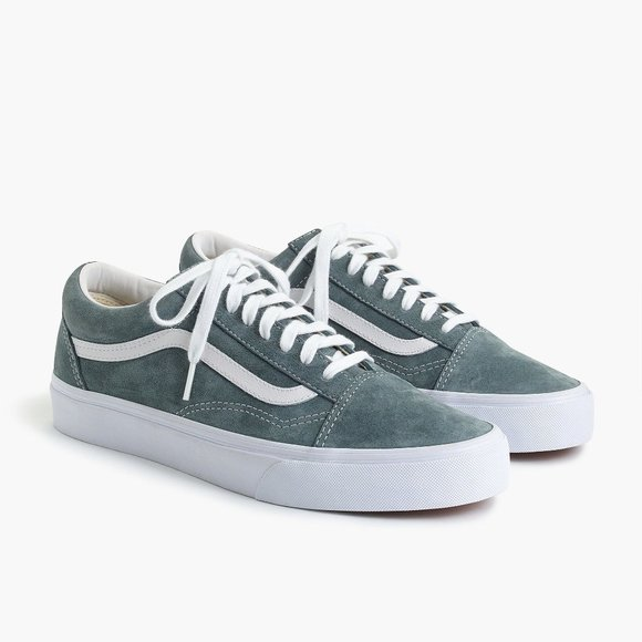 Old Skool Suede Stormy Weather Gray